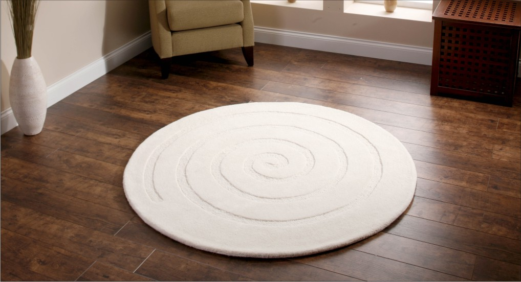 Round rugs: Give your living space an exclusive look