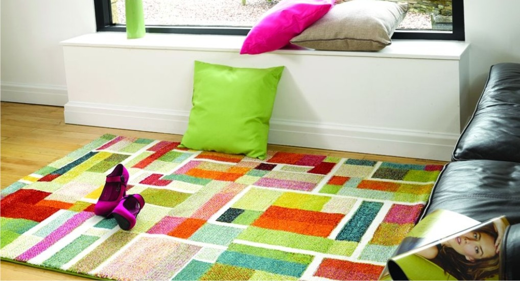 How to choose the right coloured rug?