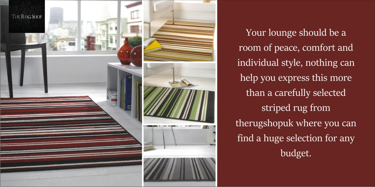Let Striped Rugs enhance your interior