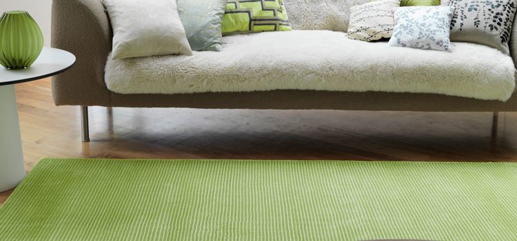 Give a natural feel to your place with Green Rugs