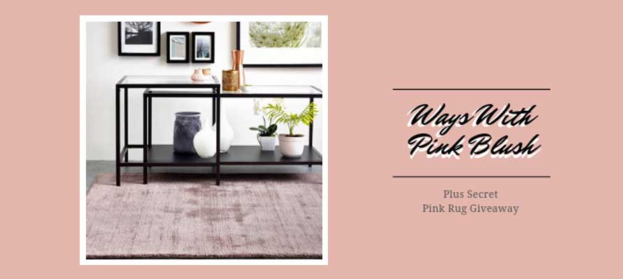 Ways With Pink Blush