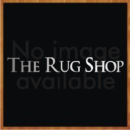 Nourison TWI24 Twilight Blue Ivory Wool Circle Rug