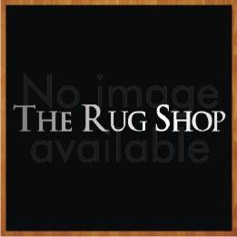 Traditional Poly Esta Black Circle Rug by Rug Style
