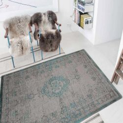 Fading World Jade Oyster 8259 Designer Luxury Rug By De Poortere