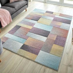 Ada Hand Carved Lilia Multi Rug by Flair Rugs