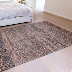 Antiquarian Kilim 9112 Agdal Brown Flatweave Rug by Louis De Poortere