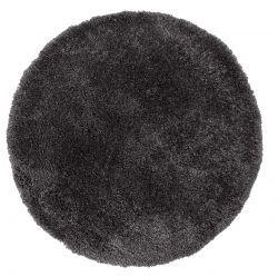 Brilliance Sparks Anthracite Circle Rug by Flair Rugs