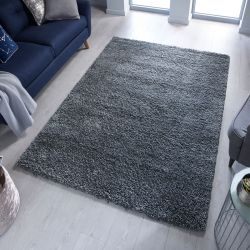 Brilliance Sparks Anthracite Rug by Flair Rugs