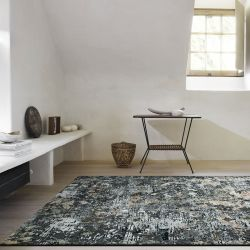 Canyon 052 - 0023 3535 Black Abstract Contemporary Rug by Mastercraft