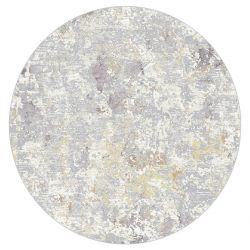 Canyon 052 - 0023 6414 Grey Contemporary Circle Rug by Mastercraft