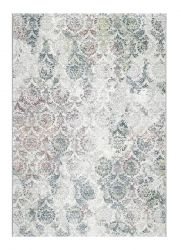 Canyon 052 - 0045 6464 Beige Damask Contemporary Rug by Mastercraft