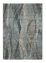 Canyon 052 - 0046 3535 Black Abstract Contemporary Rug by Mastercraft