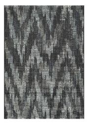 Canyon 052 - 0053 3585 Black chevron Contemporary Rug by Mastercraft