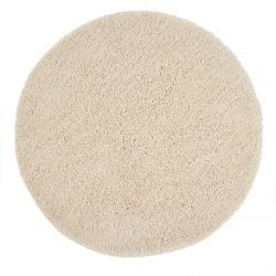 Chicago Cream Polyester Circle Rug by Origins