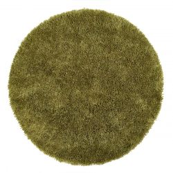 Chicago Olive Polyester Circle Rug by Origins
