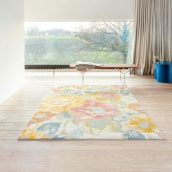 City 466118 AK990 Multi Contemporary Rug by Mastercraft