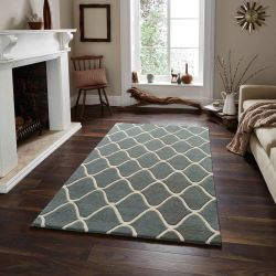 Elements EL-65 Blue Wool Rug By Think Rugs
