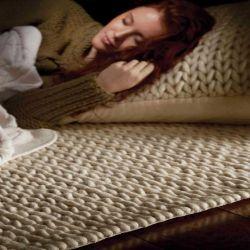 Fusion Ivory Wool Rug by Rug Guru