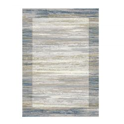 Galleria 063 0138 6191 Beige Blue Bordered Rug by Mastercraft