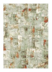 Galleria 063 0498 6474 Green Abstract Rug by Mastercraft