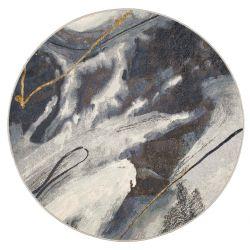 Galleria 063 0529 2626 Grey Abstract Circle Rug by Mastercraft