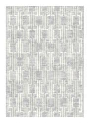 Galleria 063 0597 7969 Grey Geometric Rug by Mastercraft
