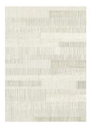 Galleria 063 0599 7565 Beige Striped Rug by Mastercraft