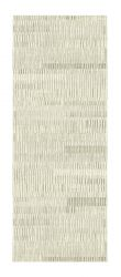 Galleria 063 0599 7565 Beige Striped Runner by Mastercraft