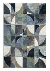 Galleria 063 0650 6656 Blue Abstract Rug by Mastercraft
