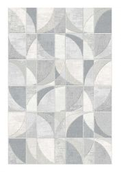 Galleria 063 0650 6979 Grey Abstract Rug by Mastercraft