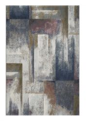 Galleria 063 0700 6626 Blue Abstract Rug by Mastercraft