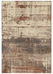 Galleria 079 0378 4848 Brown Abstract Rug by Mastercraft