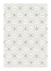 Liberty 034-0024 6191 Cream Geometric Contemporary Rug by Mastercraft