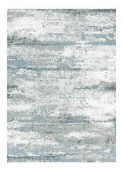 Liberty 034-0026 6151 Blue Abstract Contemporary Rug by Mastercraft