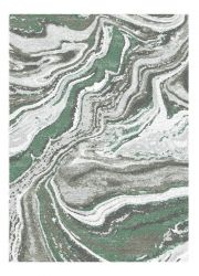 Liberty 034-0040 6141 Green Abstract Contemporary Rug by Mastercraft