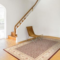Noble Art 65110 390 Red Beige Traditional Runner by Mastercraft