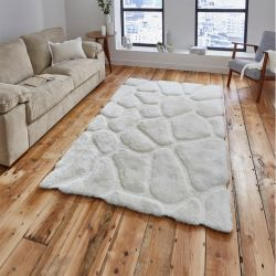 Noble House NH-5858 Cream Rug by Think Rugs 1