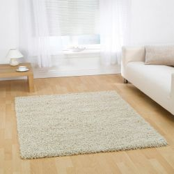 Nordic Cariboo Ivory Shaggy Rug By Flair Rugs