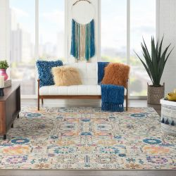 Passion PSN01 Ivory Multi Rug by Nourison