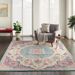 Passion PSN22 Ivory Multi Rug by Nourison