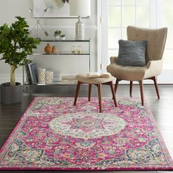 Passion PSN22 Pink Rug by Nourison