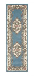 Shensi Blue Traditional Runner by Rug Guru