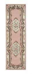 Shensi Pink Traditional Runner by Rug Guru