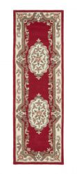 Shensi Wine Traditional Runner by Rug Guru