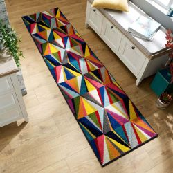 Spectrum Danza Multi Runner By Flair Rugs