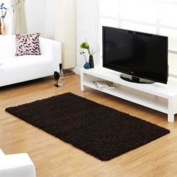 Indulgence Shaggy Choc Rug By Ultimate Rug