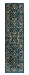 Valeria 1803X Blue Multi Traditional Style Soft  Rug various sizes and runner