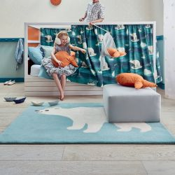 Villa Nova Artic Bear RG2028 Kids Rug by Louis De Poortere