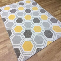 Woodstock 032 0953 6324 Geometric Rug by Mastercraft