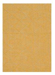 Zala Flax Geometric Rug by Claire Gaudion